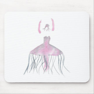 Jellyfish Ballerina - Annette Mouse Pad