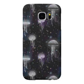 Jellyfish By Night Samsung Galaxy S6 Cases