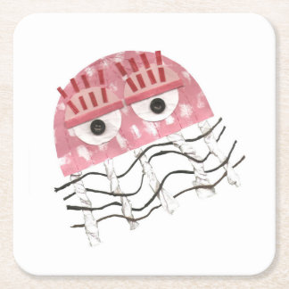 Jellyfish Comb Custom Coaster