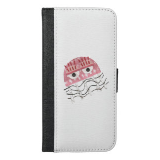 Jellyfish Comb I-Phone 6/6s Plus Wallet Case