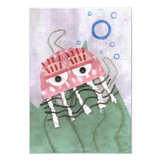 Jellyfish Comb Invitations