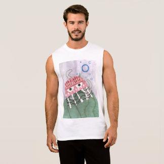 Jellyfish Comb Men's Vest Top