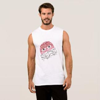 Jellyfish Comb No Background Men's Vest Top