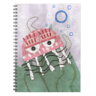 Jellyfish Comb Notebook