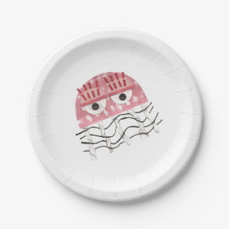 Jellyfish Comb Paper Plate