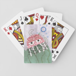 Jellyfish Comb Playing Cards