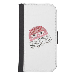 Jellyfish Comb Samsung Galaxy S4 Wallet Case