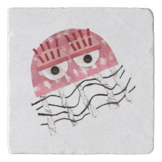 Jellyfish Comb Stone Trivet