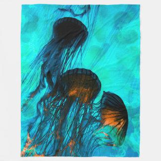 """Jellyfish Custom Fleece Blanket, 60""""x80"""""""