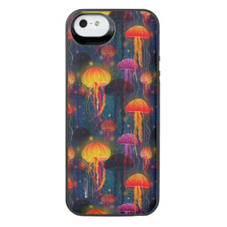 Jellyfish Dance iPhone SE/5/5s Battery Case