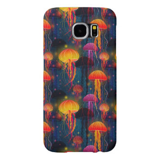 Jellyfish Dance Samsung Galaxy S6 Cases