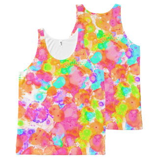 Jellyfish Dreams All-Over Print Singlet