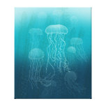 Jellyfish Gallery Wrapped Canvas
