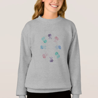 Jellyfish Girls' Sweatshirt