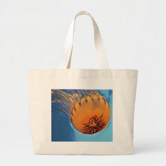 Jellyfish Large Tote Bag