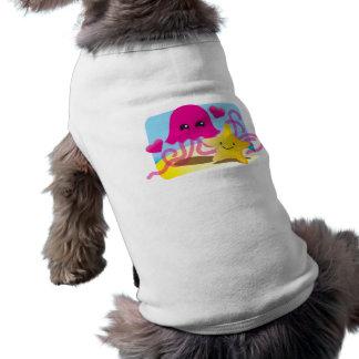 Jellyfish Love Sleeveless Dog Shirt
