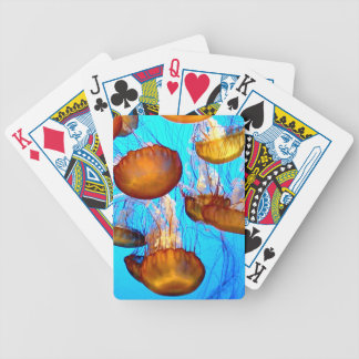 Jellyfish Madness Bicycle Playing Cards