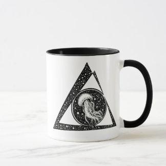 Jellyfish on sapce mug