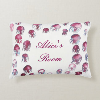 Jellyfish School Pillow