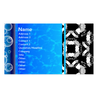 Jellyfish WGB Grid Rotated Alternate Pack Of Standard Business Cards