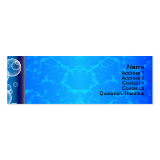 Jellyfish WGB Grid Rotated Alternate Inverted Pack Of Skinny Business Cards