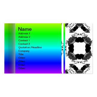 Jellyfish WGB Grid Rotated Inverted Pack Of Standard Business Cards