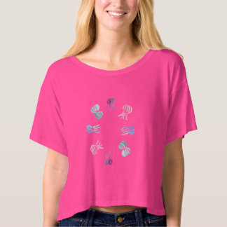Jellyfish Women's Boxy Crop Top T-Shirt
