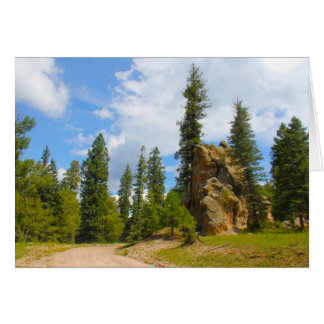 Jemez Mountains, New Mexico Card
