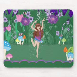 Jen the Dancing Flower Fairy Mousepad