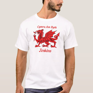 Jenkins Welsh Dragon T-Shirt