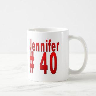 Jennifer 40th Birthday Coffee Mug