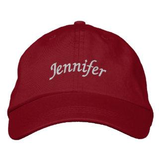 Jennifer Embroidered Hat