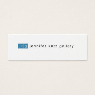 Jennifer Katz Skinny Business Card