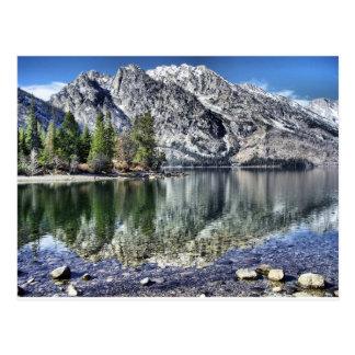 Jenny Lake Reflection Postcard