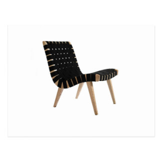 JENS RISOM by Knoll Mid-Century Modern Strap Chair Postcard