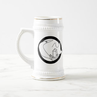 Jenvy Fox Art Logo Stein