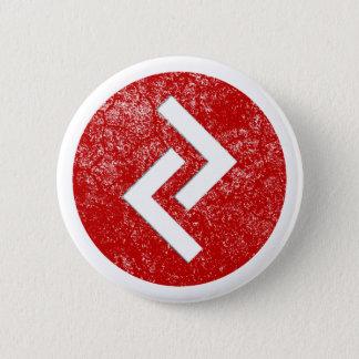 Jera Rune 6 Cm Round Badge