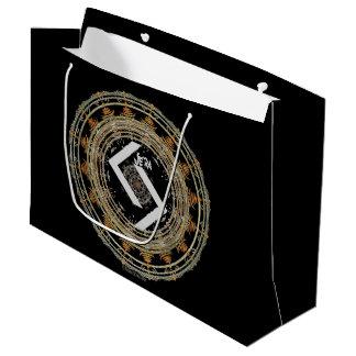 ☼JERA - Rune of Time ☼ Large Gift Bag