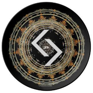 ☼JERA - Rune of Time☼ Plate