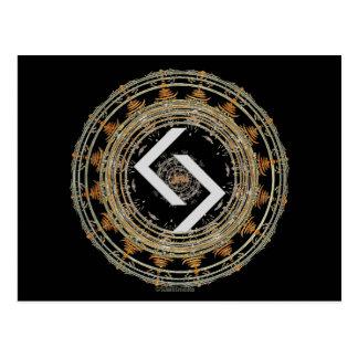 ☼JERA - Rune of Time☼ Postcard