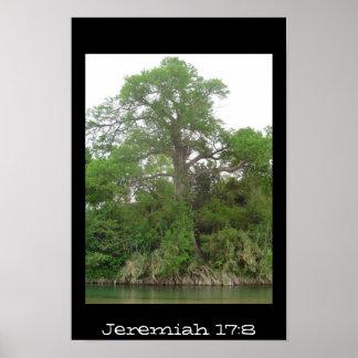 Jeremiah 17:8 poster