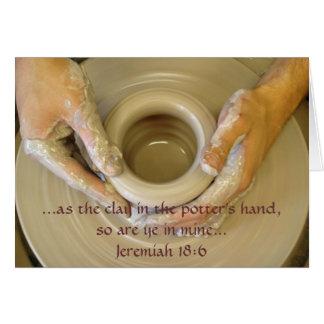 Jeremiah 18:6 - Blank Inside Card