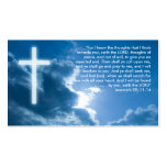 Jeremiah 29; 11-14 | Christian Pack Of Standard Business Cards