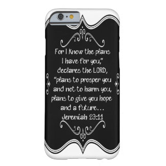 Jeremiah 29:11 Custom Christian Gift Barely There iPhone 6 Case