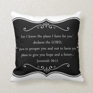 Jeremiah 29:11 Custom Christian Gift Cushion