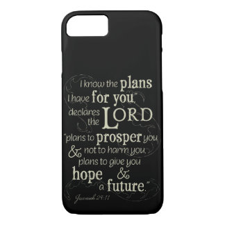 Jeremiah 29:11 I know the plans I have for you... iPhone 8/7 Case