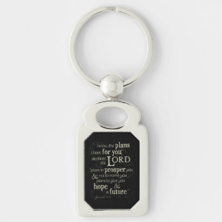 Jeremiah 29:11 I know the plans I have for you... Key Ring