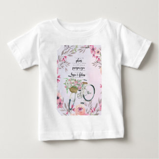 Jeremiah 29:11 Inspirational Bicycle Baby T-Shirt