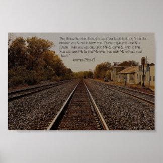 Jeremiah 29:11 Poster