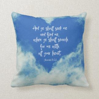Jeremiah Bible Verse Cushion